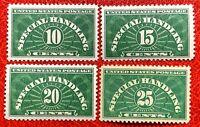 1925-55 US Special Handling Stamps SC#QE1-QE4 MNH/OG XF CV:$55