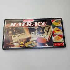Ratrace Vintage Waddingtons 100% Complete 1984 Board Game Family Holiday