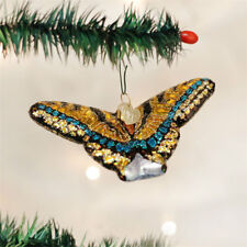Swallowtail Butterfly Glass Ornament