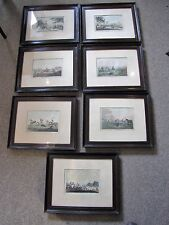 SUITE OF 7 'ORIENTAL FIELD SPORTS' ETCHINGS
