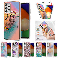 For Samsung A52 A32 A21s A11 A12 A11 Shockproof Pattern Rubber Soft Case Cover