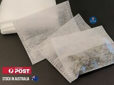 50/100/200 Pcs Empty FLIP-SEAL TEABAGS Herb Garni Infuser Spices Loose Tea Bags