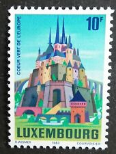 Luxembourg (1983) Green Heart of Europe / Castles / Bridges - Mint (MNH)