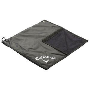 Callaway Golf 2-in-1 Rain Hood & Towel Water Repellent Cotton Fits Most Bags