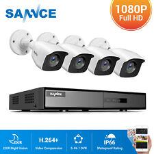 SANNCE 8CH 5IN1 H.264+ DVR 3000TVL Outdoor CCTV Camera Home Surveillance System