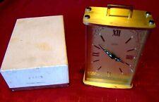 Vintage - Kaiser - Carriage Clock - Alarm - West Germany - Original Box - Runs