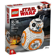 New LEGO BB-8 BB8 Star Wars The Last Jedi 75187 Toy (1106 pieces)