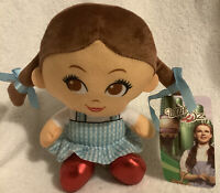 "The Wizard of Oz Dorothy Plush Big Head Dolls Stuffed Toy Doll 7"" New with Tags"