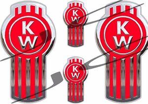 KENWORTH stickers decals emblem 4 stickers