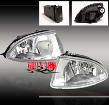04 05 HONDA CIVIC DX EX GX HX 2/4DR JDM BUMPER DRIVING FOG LIGHT LAMP+OEM SWITCH