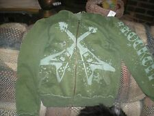 Rock City Hoodie Green Medium Guitars Gibson Vg