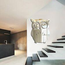 Best 3D Owl  Mirror Vinyl Removable Wall Sticker Decal Home Decor Art DIY