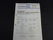 Original Service Manual Telefunken  Studio Center 7004 HIGH COM