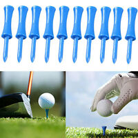 100pcs Plastic Step Down Golf Tees Graduated Castle Tee HeightControl 68mm new