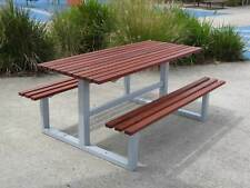 Timber Outdoor Setting Picnic BBQ Table Brand New 1.8 Metres Commercial Quality