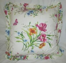 TOMMY HILFIGER STEPHANIE 20X20 DECORATIVE TOSS PILLOW FLORAL