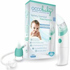 Baby Nasal Aspirator - Safe Hygienic and Quick Battery Operated Nose Cleaner
