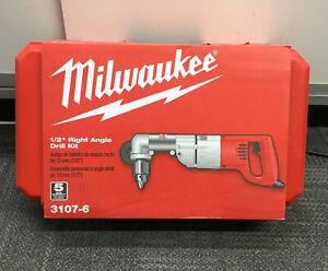 "Milwaukee 3107-6 1/2"" Right Angle Drill Kit NEW #2"