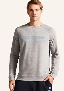 Peloton Lightweight Crewneck Pullover - Men's Large - MSRP $68.00