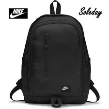 Men's Nike All Access Soleday Backpack Rucksack Bag Grey 25L Inter Laptop  Black