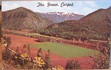 Montana Postcard THE GREEN CARPET Clark Fork River Valley Alberton Bob Anderson