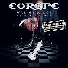 EUROPE - WAR OF KINGS (DELUXE SPECIAL EDITION) CD + BLU-RAY + DVD NEUF