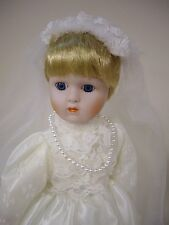 "The Heritage Mint Ltd. Bride Doll, 15 1/2"" inches"
