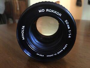 Minolta 50mm/1.4
