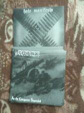 WARGRINDER/HATE MANIFESTO-split-7EP-black metal