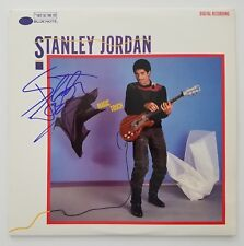 Stanley Jordan Signed Magic Touch Vinyl Record Legend Rock & Roll