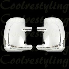 FOR 1999 2000 01 02 03 04 05 06 07 Ford F250 F350 F450 SD Chrome Mirror Covers