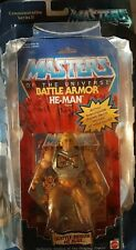 Masters Of The Universe Commemorative Series He-Man Limited Edition figure.