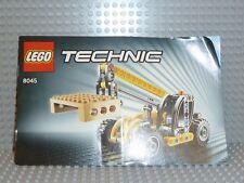 LEGO® Technic Bauanleitung 8045 Mini Telehandler instruction BA ungelocht