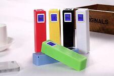 2600mAh Mini Perfume Power Bank With digital display Portable Power Bank