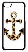 New Anchor Animal Leopard print Black/White Back Case Cover Apple iPod 4 5 6