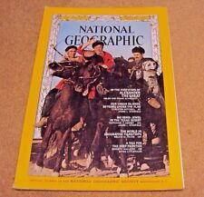 National Geographic Magazine January 1968 Alexander The Great US Virgin Islands