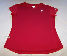 One Active By Michelle Bridges Ladies Red Short Sleeve T Shirt Size 12 New