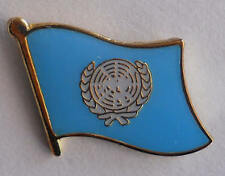 United Nations Flag Lapel Pin / United Nations