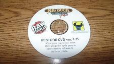 BIG BUCK HUNTER PRO RAW THRILLS  RECOVERY DISK DVD V1.25