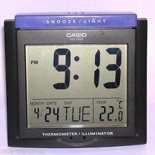 Casio DQ-750F-1D Digital Alarm Clock - Thermometer Snooze Calendar DQ-750 Black