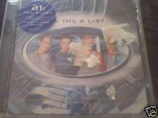 A1 THE A LIST CD SIGILLATO INTROVABILE