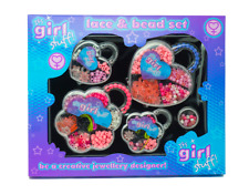 Its Girls Stuff Large Lace and Bead Set Creative Jewellery Designer Gift
