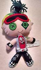 "Monster High 9"" Plush Cloth Doll Yarn Hair Deuce Gorgon Mattel Boy Button Eyes"