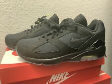 "NIKE AIR MAX 180 BLACK-BLACK-VOLT ""NIGHT OPS"" MENS SHOES Size 11 AQ6104-001"