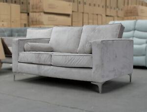 FREYA 2 Seater Mink 145cm Scandi Style Sofa CLEARANCE C224