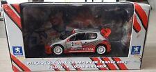 M92 1/43 PEUGEOT 206 WRC CHAMPION DE FRANCE 2005 BERNARDI  NOREV