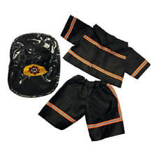 "Teddy Mountain Black Fire Fighter Outfit Fits all 14""-18"""