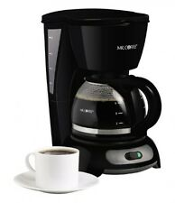Mr. Coffee TF5 4Cup Switch Coffeemaker, Black, New, Free Shipping