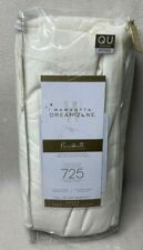 Wamsutta Dream Zone 725-Thread-Count Fitted Sheet - Ivory - Size: Queen