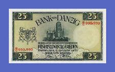 DANZIG - 25 Gulden Jan 2nd 1931s - Reproductions